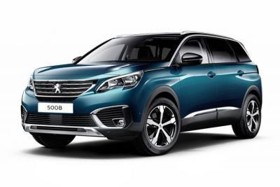 Peugeot 5008 lease car