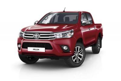 Toyota Hilux lease van