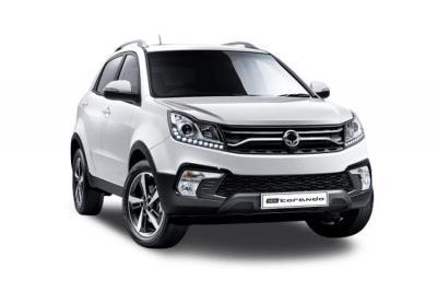 Ssangyong Korando lease car