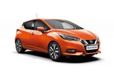 Nissan Micra lease car