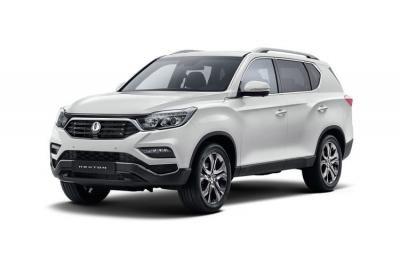 Ssangyong Rexton lease car