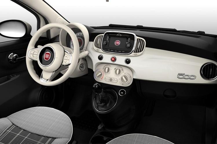 Fiat 500 Convertible 2 Door 1.2 69hp Collezione Dualogic