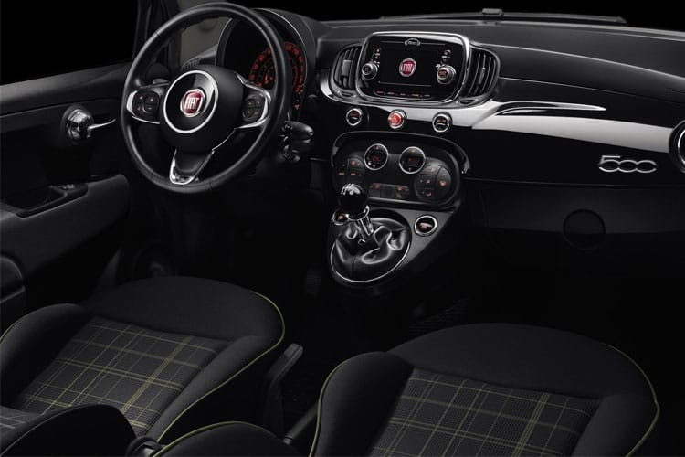 Fiat 500 Hatchback 3 Door Hatch 1.2 69HP 120TH Dualogic