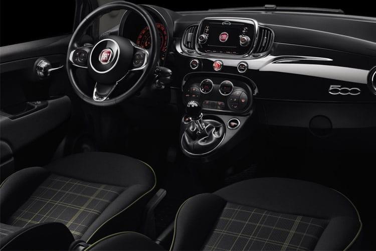 Fiat 500 Hatchback 3 Door Hatch mHEV 1.0 70hp Lounge