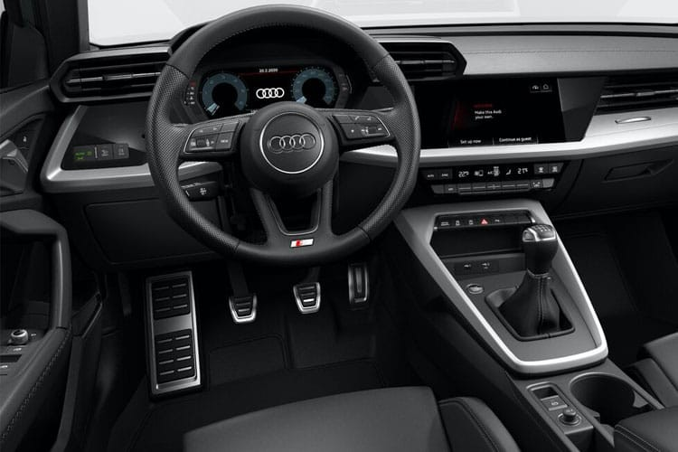 Audi A3 Saloon 4 Door 30 TDI 116 S Line Comfort+Sound Pack