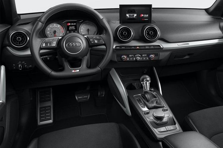 Audi Q2 SUV SQ2 TFSI 300 Quattro S Black Edition Tronic