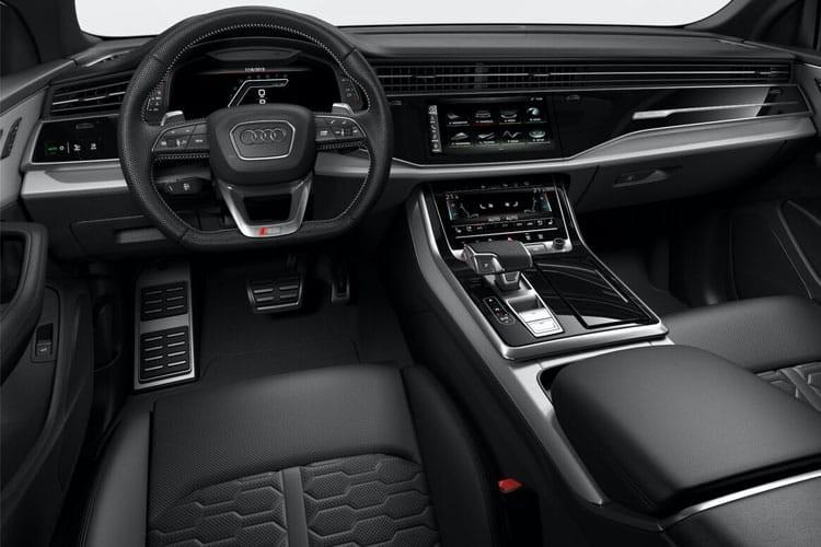 Audi Q8 SUV RS Q8 5 Door TFSI Quattro mHEV Carbon Black Tiptronic
