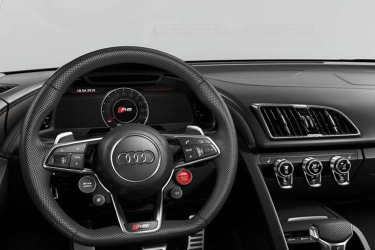 Audi R8 Spyder Convertible 5.2 FSI V10 Performance Carbon Black Quattro S tronic