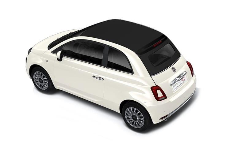 Fiat 500 Convertible 2 Door 1.2 69HP 120TH