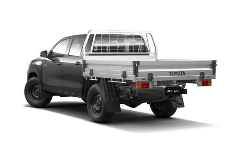 Toyota Hilux Pick-Up Double Cab Dropside 3.5t 2.4 D-4D Active TSS