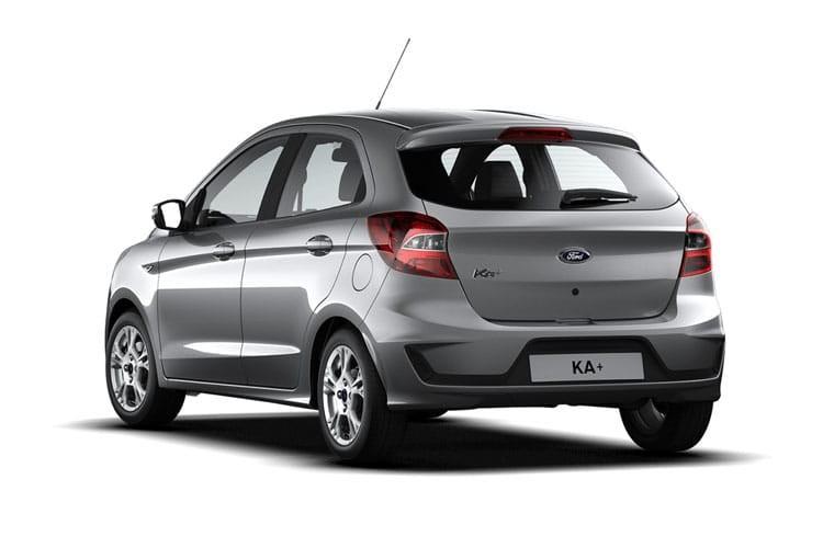 Ford Ka+ Hatchback 5 Door Hatch 1.2 85ps Zetec