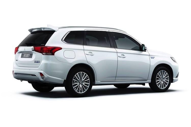 Mitsubishi Outlander SUV 5 Door 2.4 Phev Dynamic Safety Auto