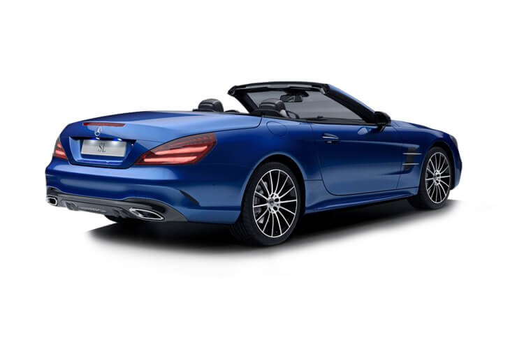 Mercedes SL-Class Roadster SL400 3.0 367 AMG Line 9G-TRONIC+