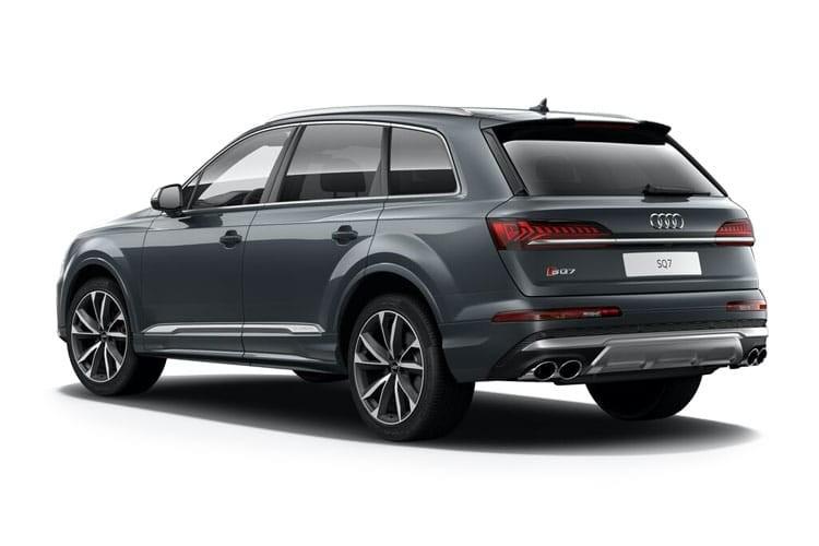 Audi Q7 SUV SQ7 5 Door 4.0 TFSI Quattro Black Edition Comfort+Sound Pack Tiptronic