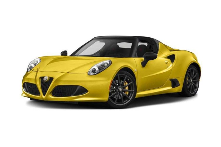 Alfa Romeo 4C Spider Spider 2 Door 1.75 Turbo 240HP 50TH Tct