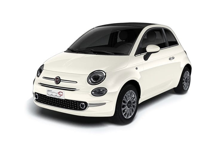 Fiat 500 Convertible 2 Door 1.2 69HP Lounge Dualogic