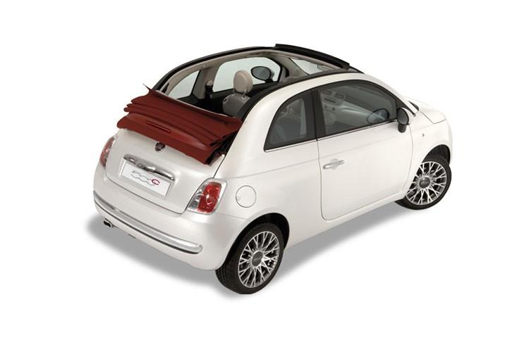 Fiat 500 Convertible 2 Door Convertible 1.2 69hp Riva Dualogic