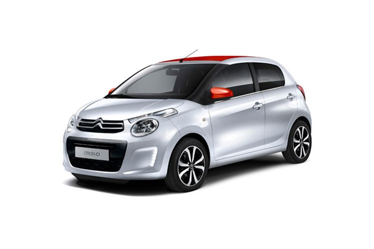 Citroen C1 Hatchback 5 Door 1.0 VTi 72 Jcc+