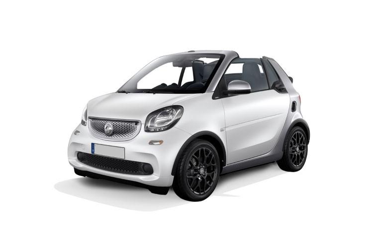 Smart Fortwo Cabriolet 2 Door Cabriolet Electric Drive Prime Premium