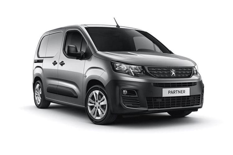 Peugeot Partner Van 1.5 BlueHDi 1000 Asphalt EAT8 Start+Stop