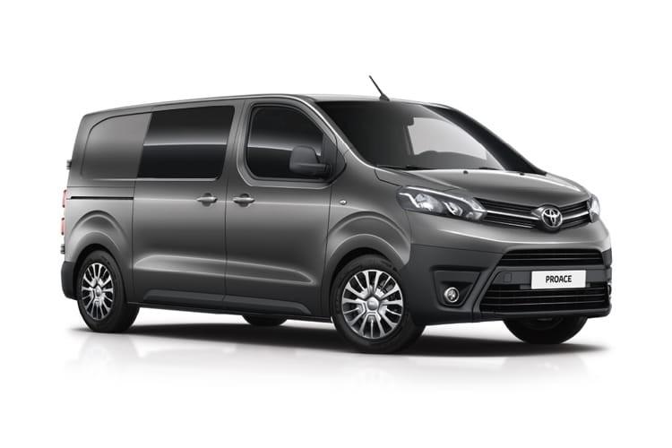 Toyota Proace Van 2.0D 120 Icon Crew Medium Premium