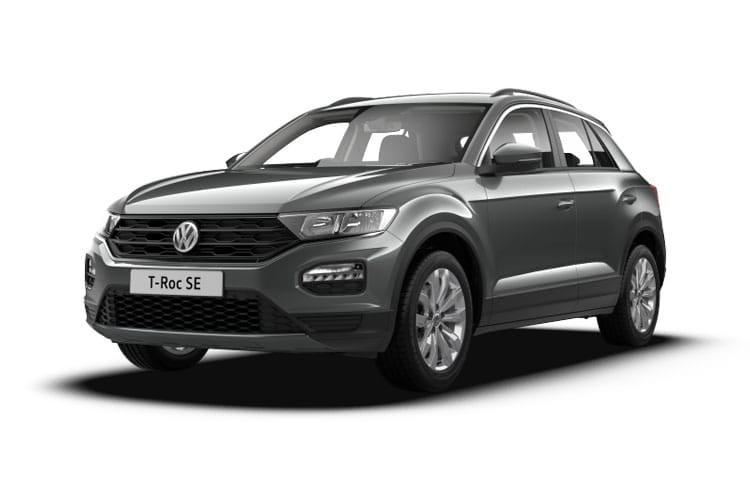 volkswagen t roc hatchback hatch 1 5 tsi evo 150ps se dsg7 leasing deal from. Black Bedroom Furniture Sets. Home Design Ideas